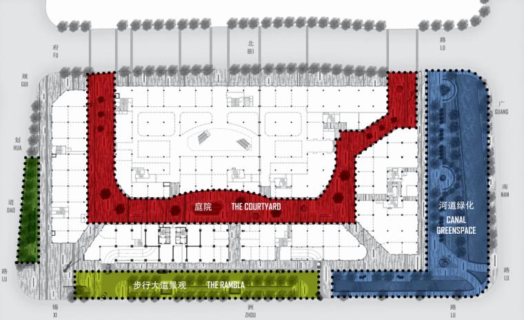 [浙江]无锡哥伦布广场景观二期项目景观方案文本_4