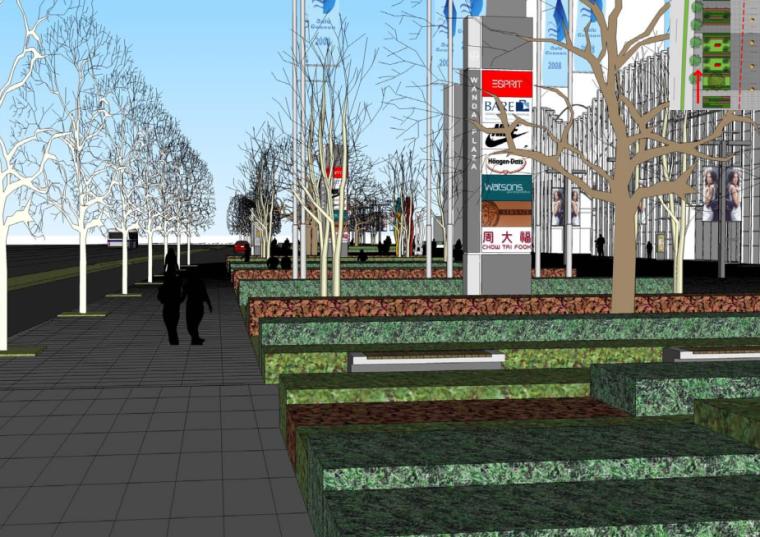 [上海]周浦知名地产广场景观和外部空间深化设计方案文本_2