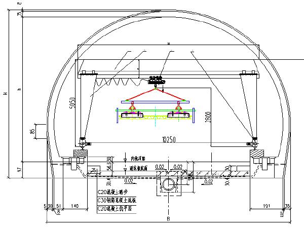 CRTSⅠ型双块式无砟轨道轨排框架法施工