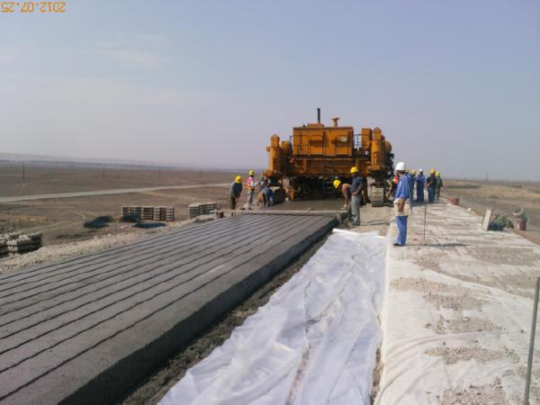 高速铁路CRTSⅠ型双块式无砟轨道施工工艺