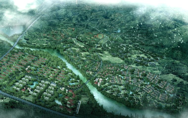 [北京]知名景观公司乾荣养老生态园方案详细规划_1