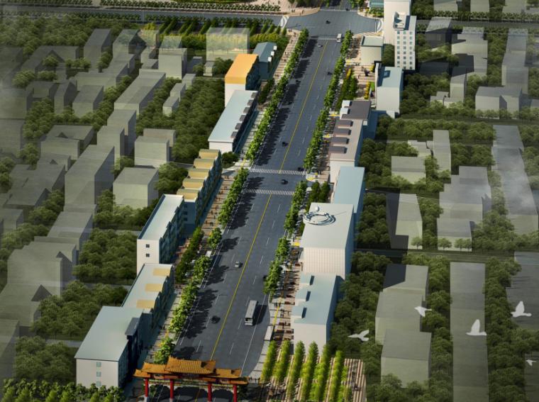 [山西]孝义市道路街道风貌设计文本