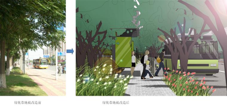 [河北]秦皇岛市道路绿化改造设计方案-土人_3