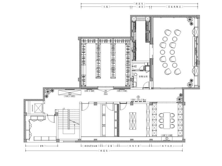 阳光花园现代风格别墅样板房施工图+实景图_4