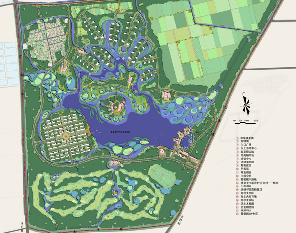 [河南]长垣县王家潭生态公园核心区规划设计_5