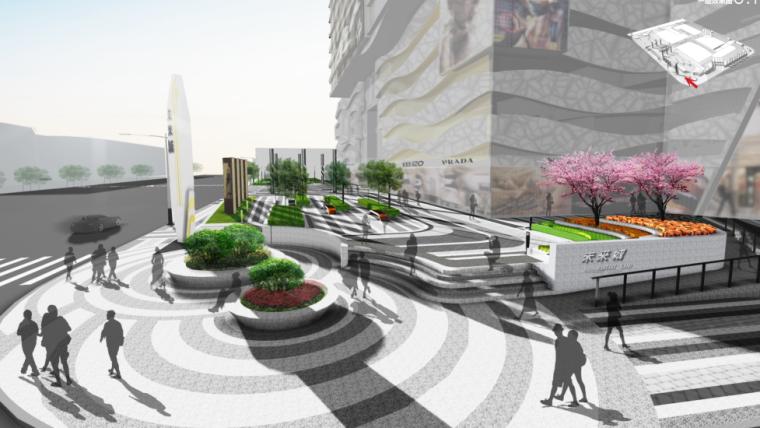 [河北]石家庄未来城商业广场景观方案文本_4
