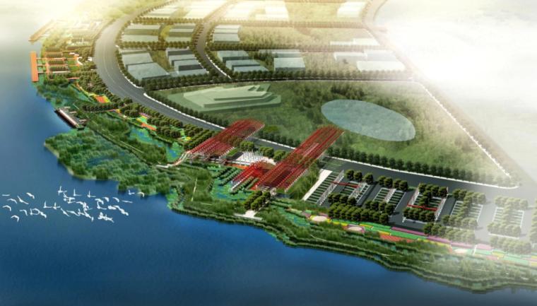 [上海]后滩湿地公园景观方案文本
