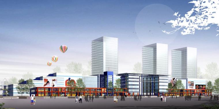 [浙江]台州市黄岩区商业街规划设计方案文本_2