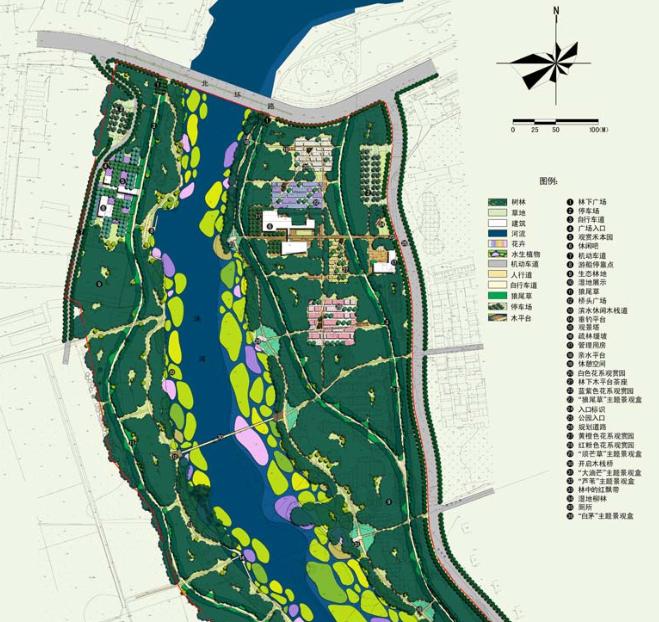 [河北]秦皇岛知名景观公司两岸带状公园景观方案文本_3