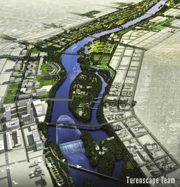 [国外]美国明尼阿波利斯市滨水设计大赛