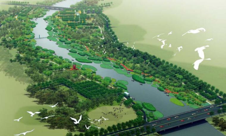 [河北]秦皇岛知名景观公司两岸带状公园景观方案文本_4