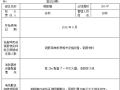 施工现场防火重点部位登记表(2016年)