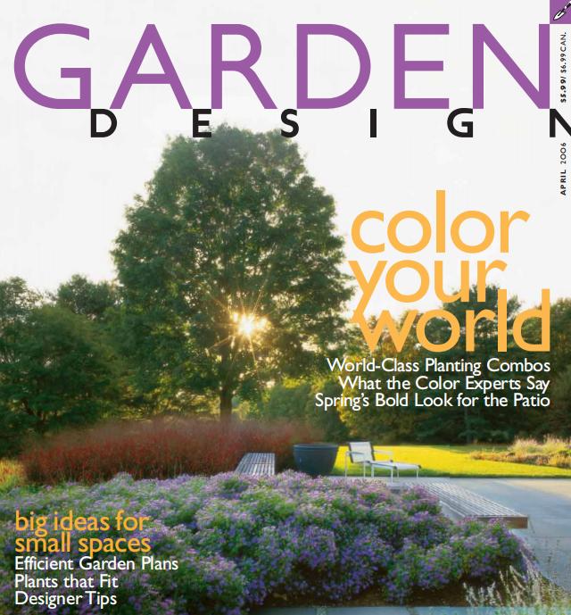 园林设计杂志-Garden.Design.April(共121