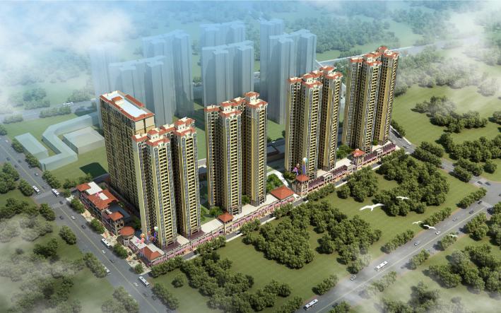 [南宁]现代风格住宅建筑方案文本(JPG+CAD)