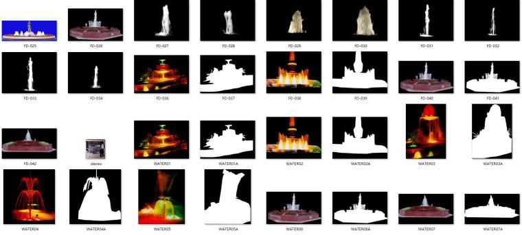 室外喷泉图片(ps素材)(32张)