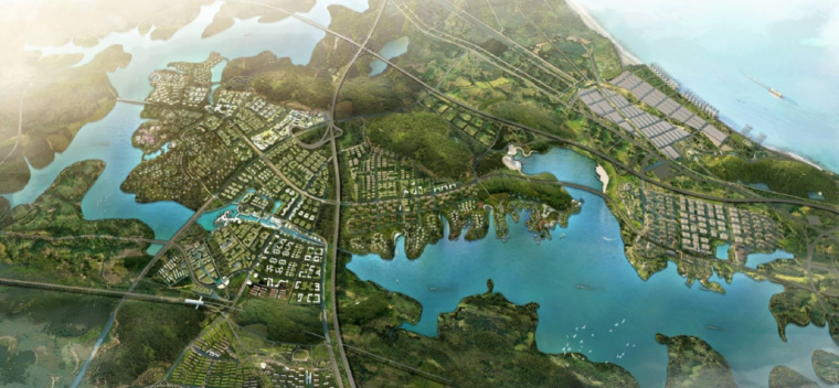 [湖北]武汉水晶河新城规划设计方案文本