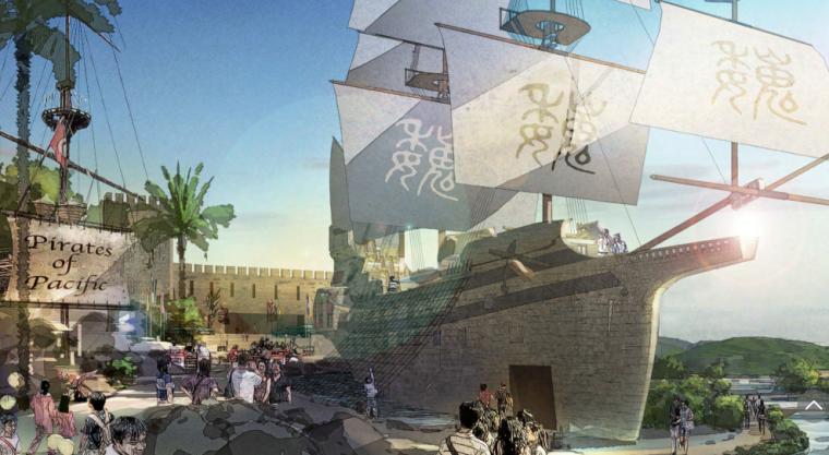 [重庆]忠县三峡港湾城市总体规划概念文本_8