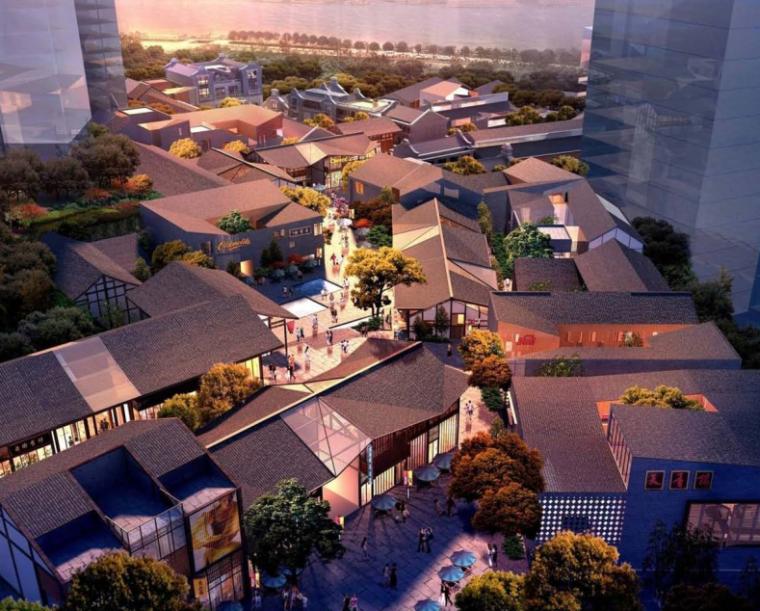 [重庆]嘉汇B2地块老街保护及商业广场景观方案文本