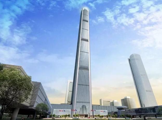 117层超限超高层办公楼综合体建筑施工图