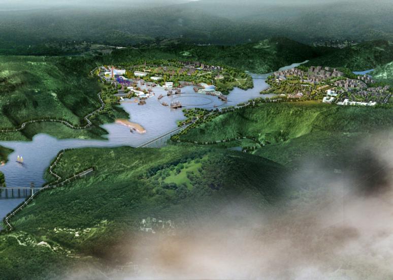 [重庆]忠县三峡港湾城市总体规划概念文本-城市规划景观设计-土木资料网