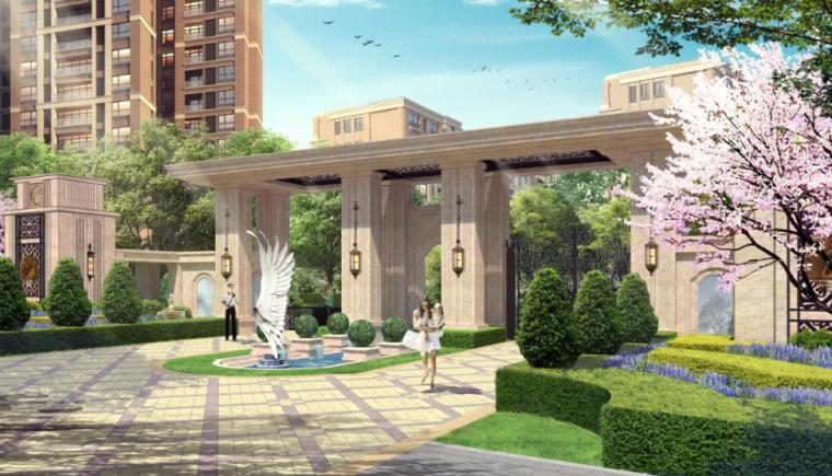 [重庆]约克郡中式居住区景观方案文本AECOM