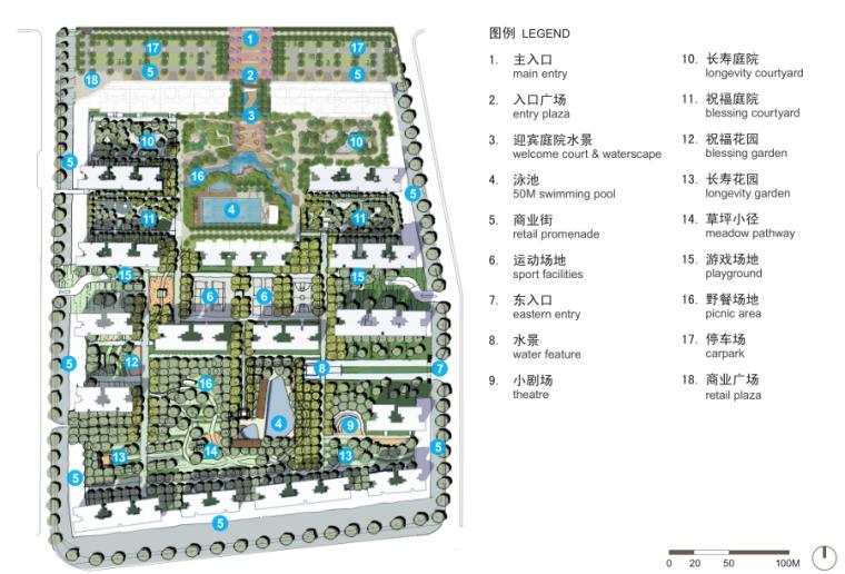 [广东]佛山山水城居住区景观方案文本-AECOM