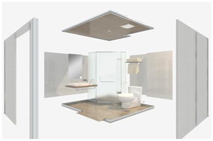 不降板装配式整体卫生间与传统卫浴的区别