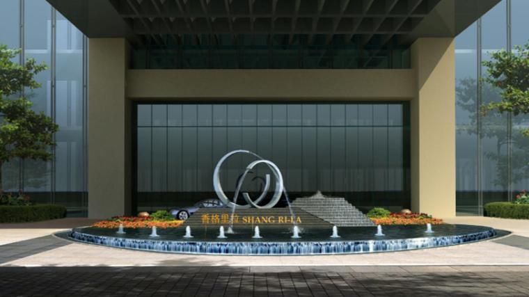 商业类景观案例研究-东篱万达商业景观设计