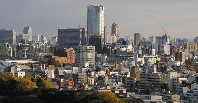 商业类景观案例研究-东京六本木新城案例