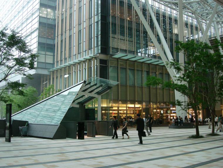 商业类景观案例研究-日本城市综合体案例