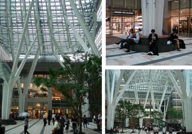 商业类景观案例研究-东京中城城市再生案例