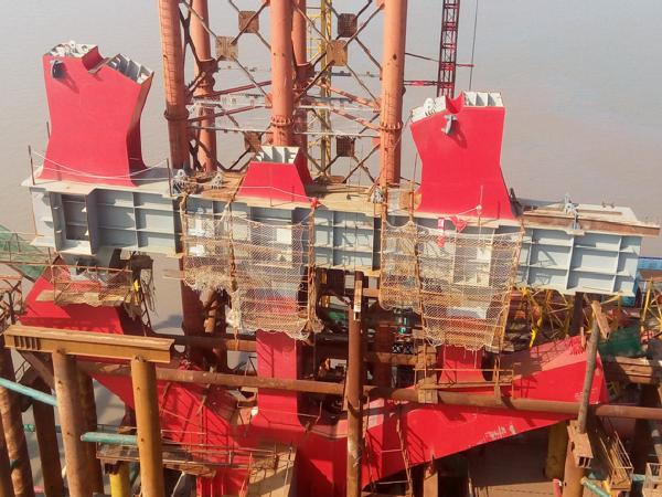 [宁波]大桥工程钢桁拱桥施工关键技术