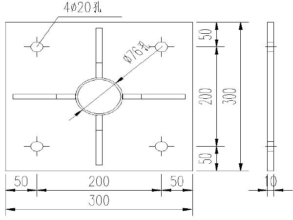4级公路设计施工图纸(平面交叉/涵洞)