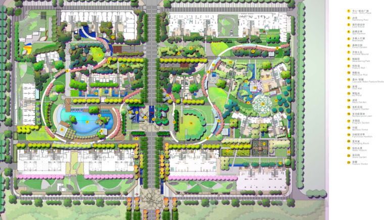[深圳]首创八意府居住区景观设计文本-AECOM_10
