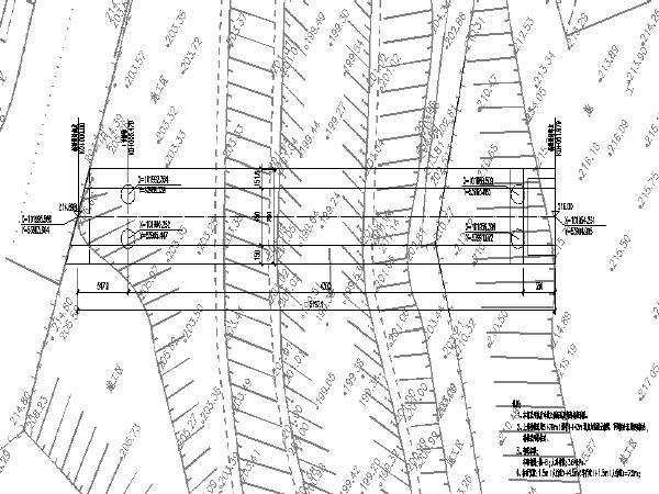 居民出行滨河景观桥梁施工图设计(两座)