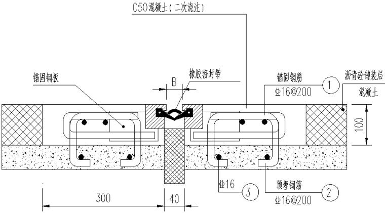 居民出行滨河景观桥梁施工图设计(两座)_7