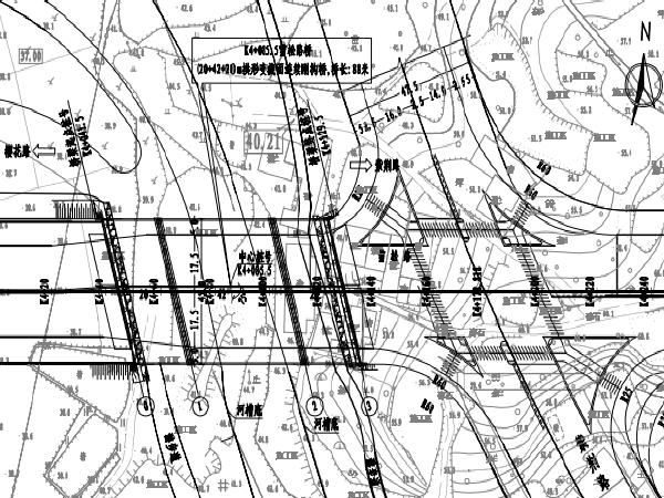 拱形变截面连续刚构桥梁图纸(PDF和CAD)