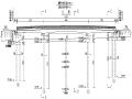 107米变截面连续箱梁天桥施工图纸