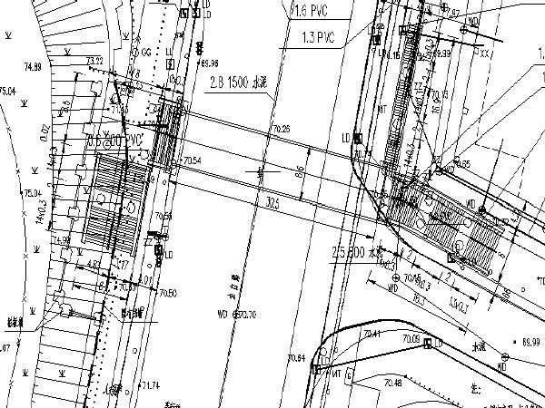 钢桁架人行天桥工程项目图纸(含清单)