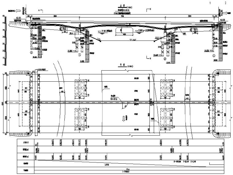 [长沙]跨河桥梁施工图(含电气施工图)