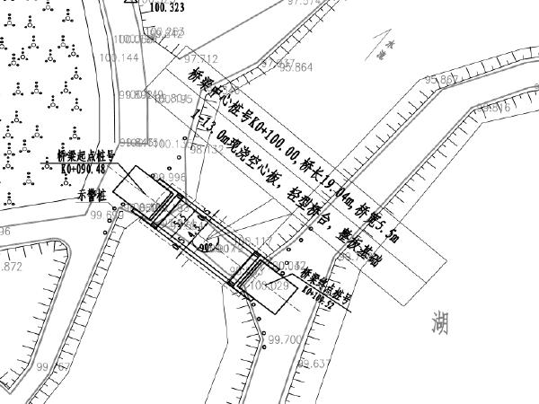 1-13.0m现浇空心板桥梁重建工程施工图