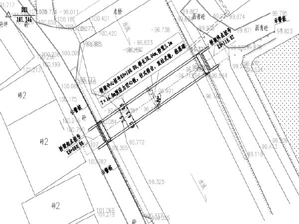 2×16.0m预应力空心板桥梁施工图设计