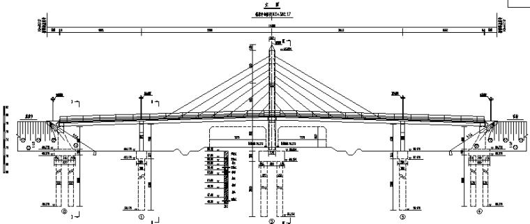 多种天桥类图纸(斜拉/拱桥/箱梁等)_3