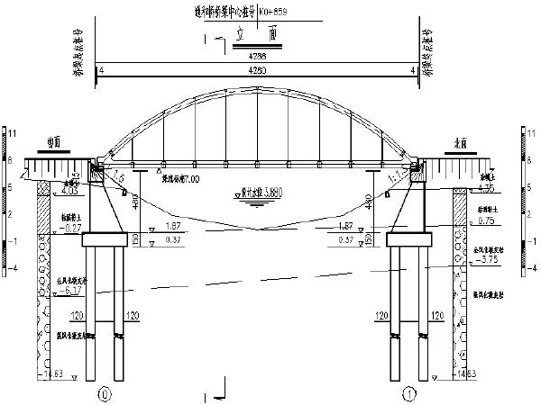 多种天桥类图纸(斜拉/拱桥/箱梁等)_2