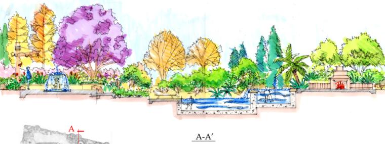 中房森林别墅庭院景观设计3套方案[方案三]_2
