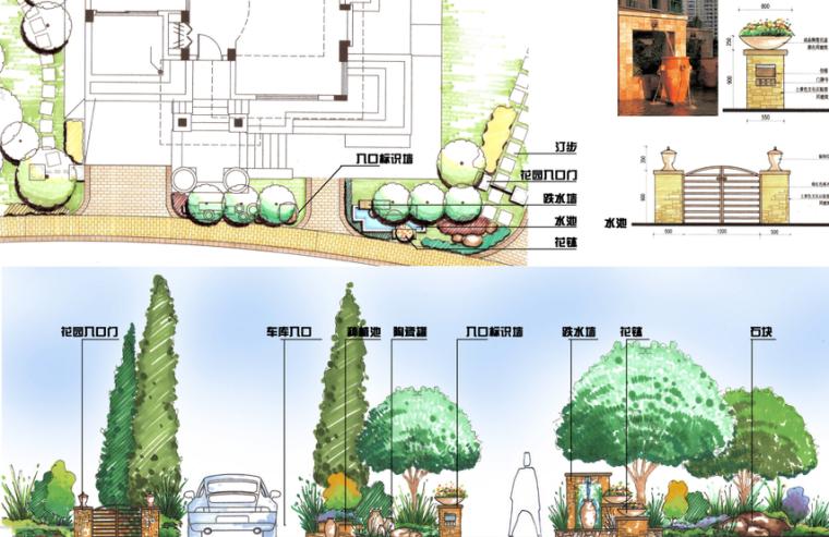 [上海]西郊庄园别墅庭院景观设计方案文本_6