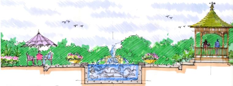 中房森林别墅庭院景观设计3套方案[方案三]_8