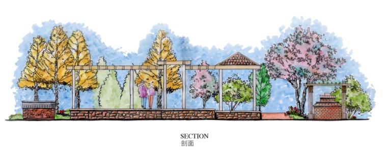 中房森林别墅庭院景观设计3套方案[方案一]_5