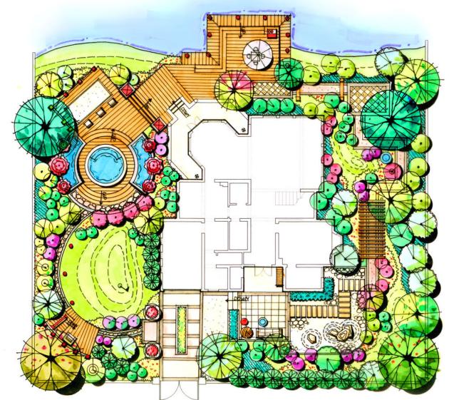 神秘花园庭院景观设计(23页)