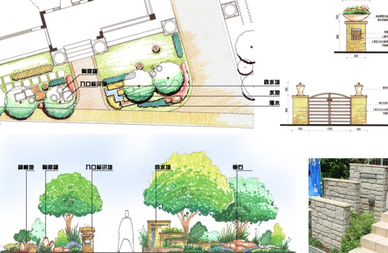 [上海]西郊庄园别墅庭院景观设计方案文本_4